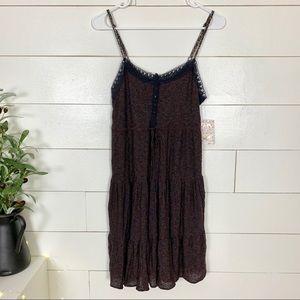 Free People Boho Tiered Dress